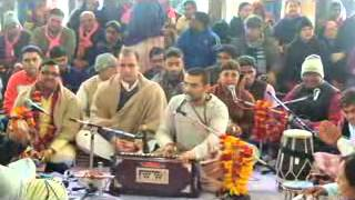 Kirtan in Barsana by Hare Krishna Movement, Jaipur Devotee