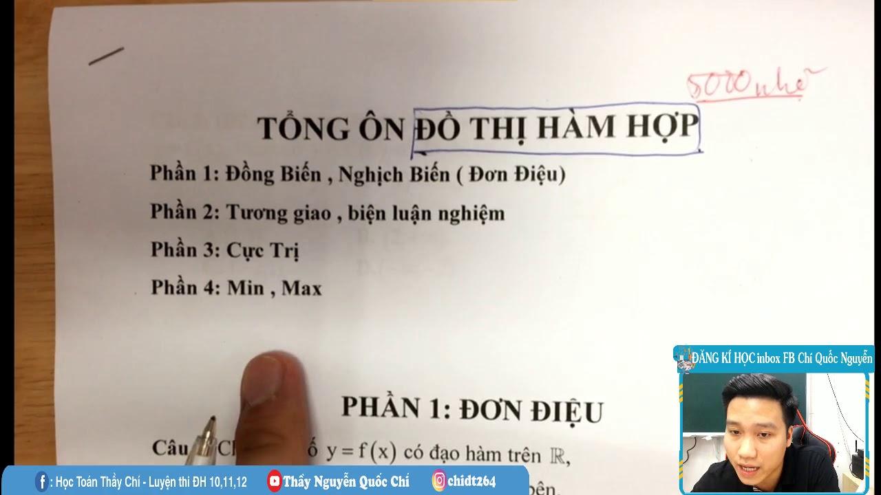 [LIVE] Đồ Thị Hàm Hợp Full .