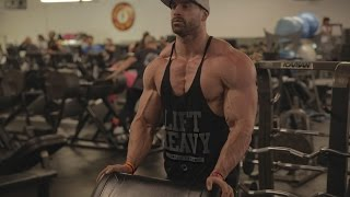BUILDING A BIGGER UPPER CHEST | FULL ROUTINE | Bradley martyn