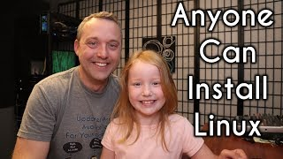 Installing Linux is So Easy an 8 Year Old Can do It! thumbnail