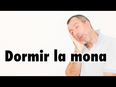 【スペイン語】#121 Dormir la mona