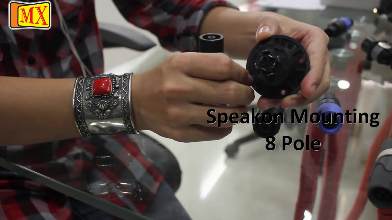 What is Speakon and Powercon Connector in Professional Audio Apllications  YouTube