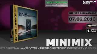 Scooter - The Stadium Techno Experience (Official Minimix HD)
