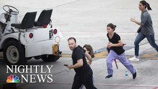 Gunman Esteban Santiago Kills 8, Injures 5 At Fort Lauderdale Airport | NBC Nightly News