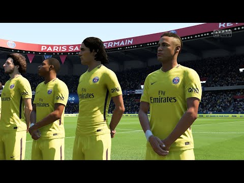 FIFA 18 - PSG x Real Madrid - Gameplay pedido por inscritos -  (Modo Lendário)