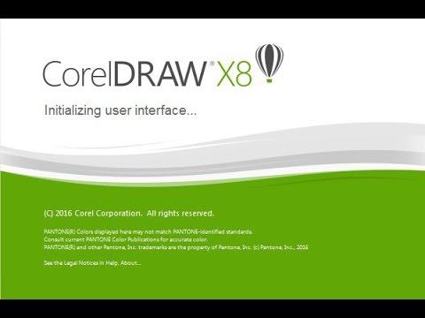 [RESOLVIDO] Erro desconhecido - CorelDraw X8 - 2017