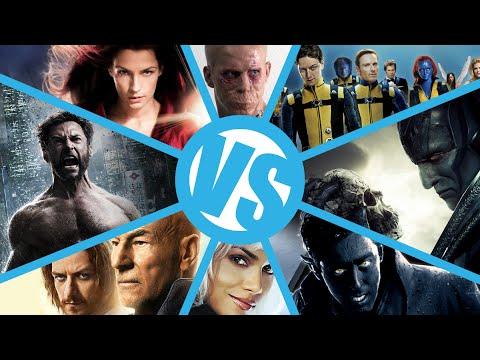 X-Men VS X2 VS X3 VS Apocalypse VS DOFP VS First Class VS Wolverine : Movie Feuds Comic Bracket ep3