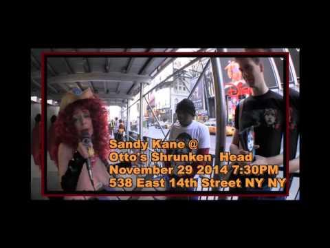 Sandy Kane the Naked Cowgirl - The Metropolitan Room 12/30/16
