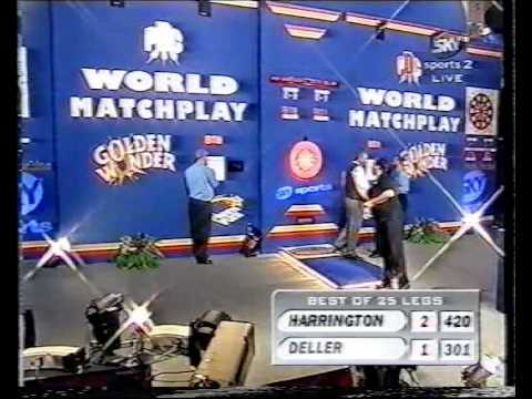 Keith Deller vs Rod Harrington - 1998 World Matchplay - Semi Finals - Part 3/10