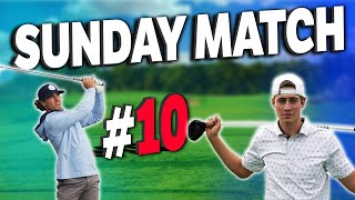 THE CRAZIEST MATCH YET?? | Micah vs Garrett | Sunday Match #10