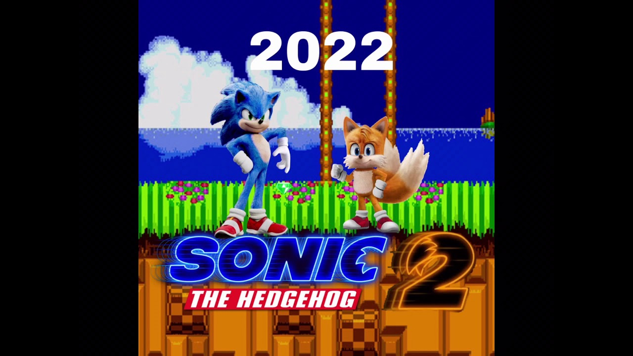 Sonic Movie 2 Custom Poster Credit Goes To Galaxy Wolf Yt For Making Me Think The Idea Youtube