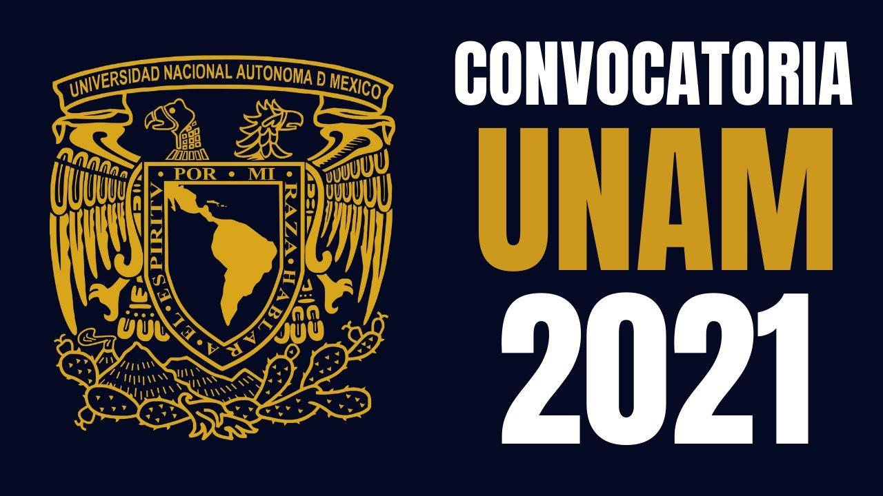 CONVOCATORIA PRIMERA VUELTA UNAM 2021 - YouTube
