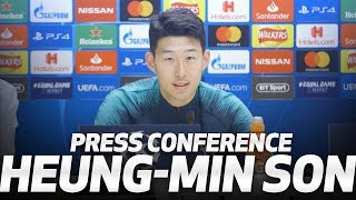 PRESS CONFERENCE | HEUNG-MIN SON PREVIEWS MAN CITY CLASH