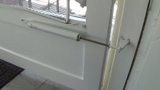 How To Install A Screen Door Closer