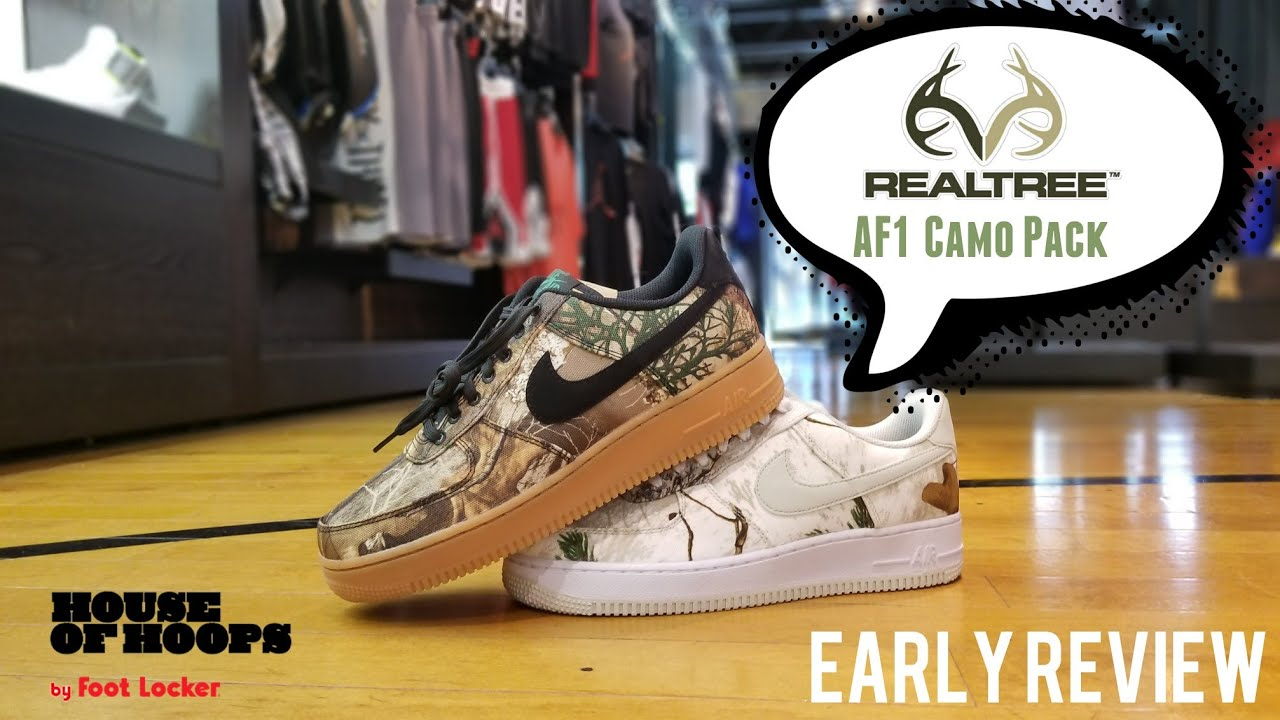 eac5754b76 REALTREE x NIKE AIR FORCE 1 LE LOW