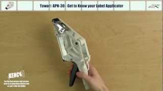 towa apn 30 loading applying instructions