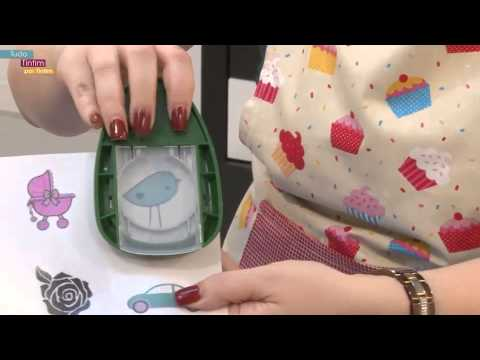 Como usar papel arroz para decorar cupcakes youtube - Papel autoadhesivo para decorar ...
