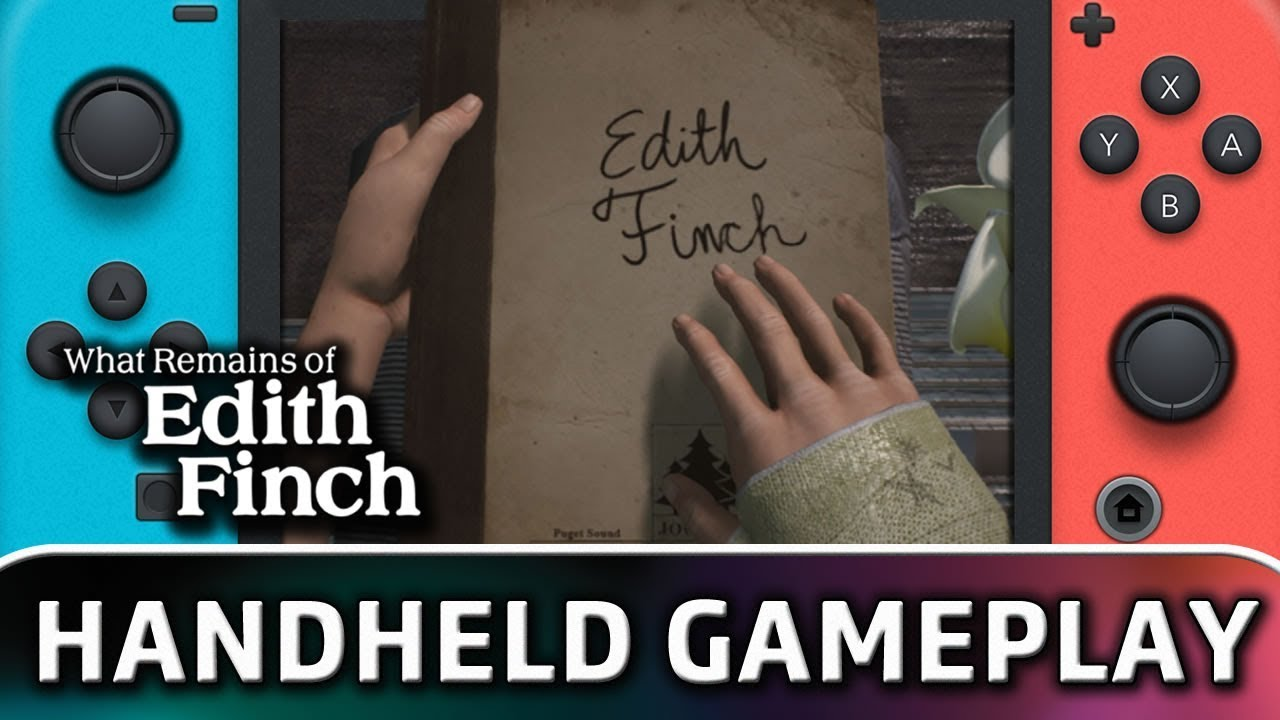 What Remains of Edith Finch | First 10 Minutes in Handheld MODE on Switch