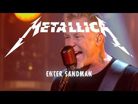 Metallica - ENTER SANDMAN: Hardwired... To Self-Destruct PR Tour 15/11/2016 Le Grand Journal, PARIS