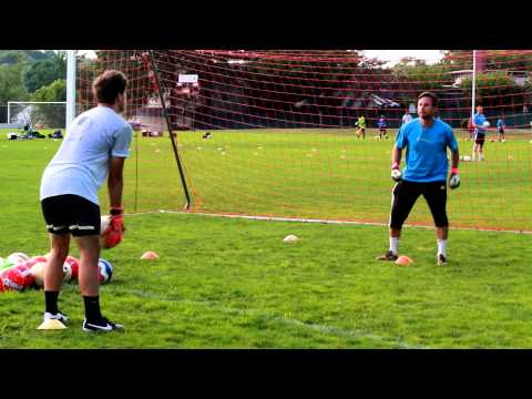 Soccer Goalkeeper Drills for High Balls, Footwork, and the Drop Step