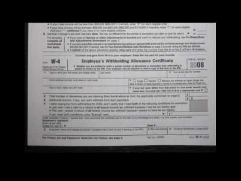 Is the W-4 Tax Form downloadable for free?