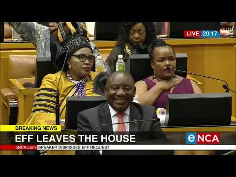 Members of parliament air their concerns following the Sona adjournment