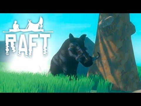 БОЛЬШОЙ ОСТРОВ | Raft | ПРОХОЖДЕНИЕ #11