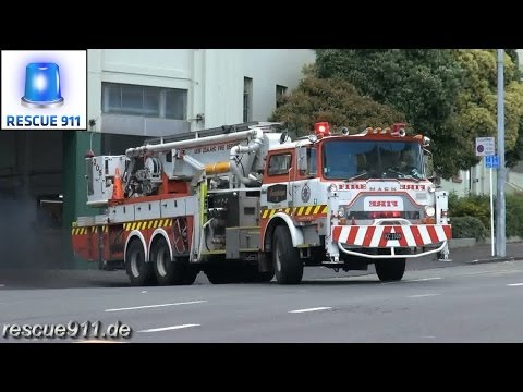 Fire response - New Zealand Fire Service Auckland City Fire Station