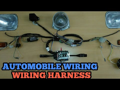 Automobile wiring system | Wiring harness |Automobile cabels