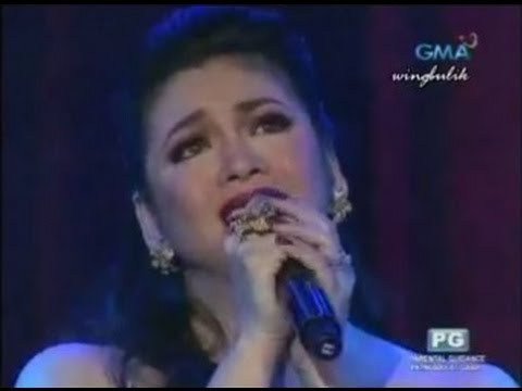 REGINE VELASQUEZ - You/Leader Of The Band (Voices Of Love Concert!)