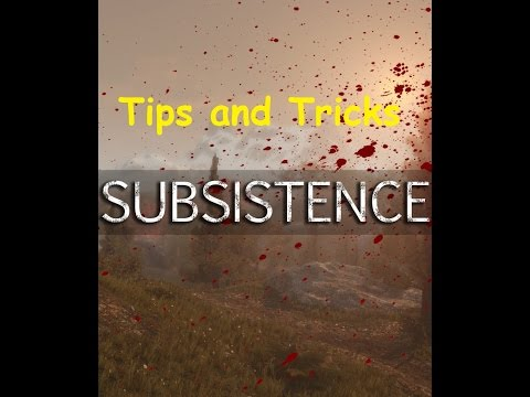 Subsistence Tips and Tricks