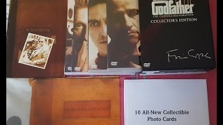 Unboxing: Godfather DVD Collection (The Coppola Restoration)