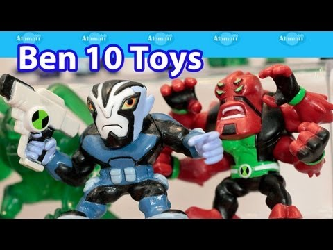 Ben 10 Toys London Toy Fair Preview