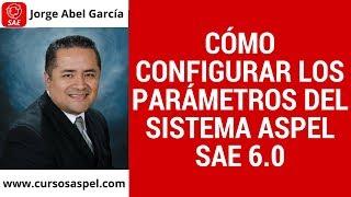 Cómo Configurar los Parámetros del Sistema Aspel SAE 6.0
