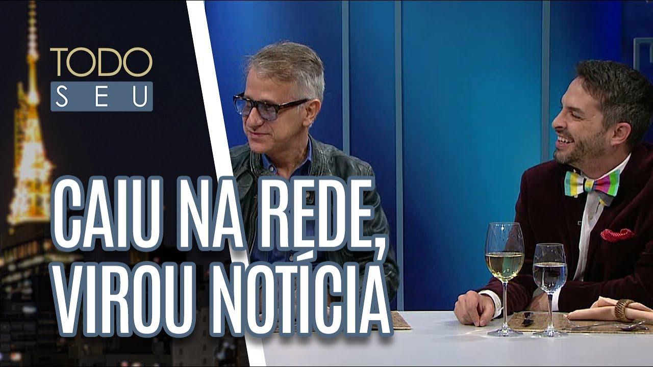 Bruno Motta e Cláudio Torres Gonzaga comentam as notícias mais bizarras - Todo Seu (17/05/18)