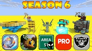 MONSTER SCHOOL SEASON 6 ALL EPISODE - Minecraft Animation