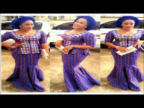 Mishono ya vitenge African Woman