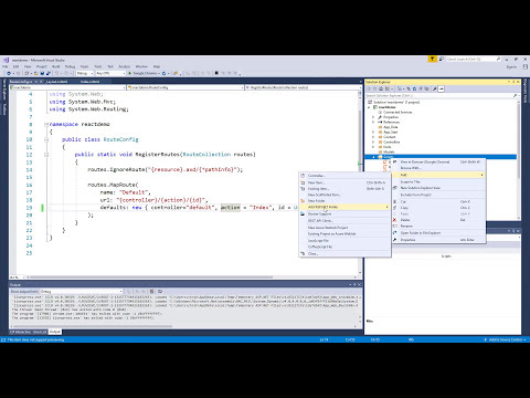 Setting Up React With ASP.NET
