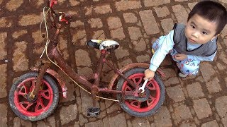 Restoration kids super cars | Restore very old bikes
