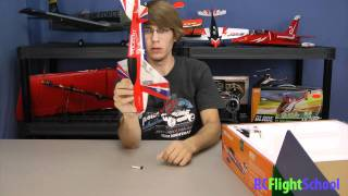 Parkzone PoleCat UMS RC AirPlane Unboxing & Review