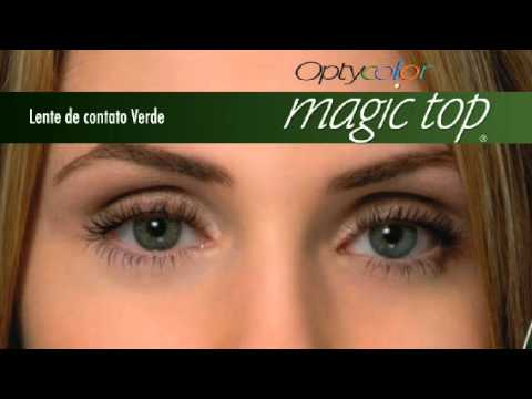 2434c5829 MAGIC TOP OPTOLENTES. iLentes Lentes de Contato