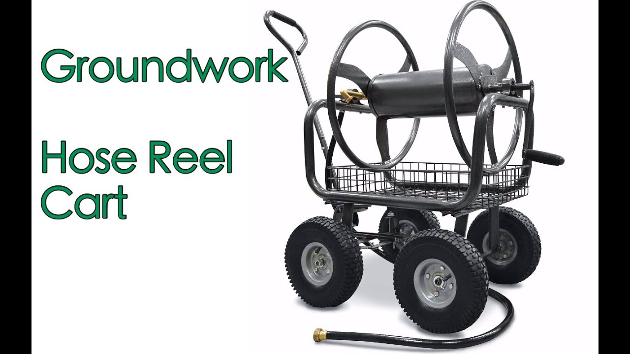 2016 Groundwork Hose Reel Unboxing and Assembly - YouTube