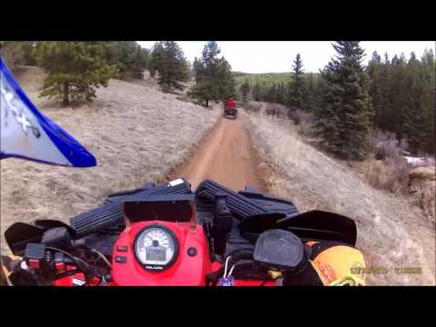 Colorado ATV Woodland Park trail 717a
