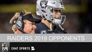 Oakland Raiders 2019 Opponents Leads To Toughest Schedule In NFL Next Season