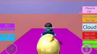 Playing Roblox The Candy World Obby!