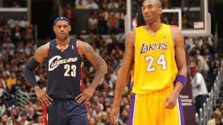 Kobe Bryant and LeBron James Through The Years