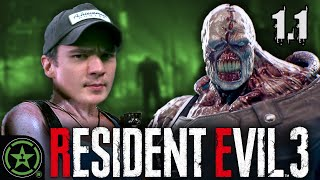 Meeting Nemesis - Resident Evil 3 (Full Gameplay Part 1.1)