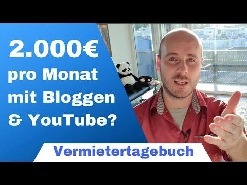 Online Geld Verdienen 🤑 - 2.000€ Pro Monat Mit Blog Oder YouTube? Meine Tipps Aus Der Praxis!