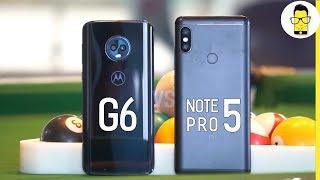 Moto G6 vs Redmi Note 5 Pro camera comparison: stalemate