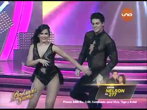 ¡Nelson Gutiérrez y Lorena Flores bailan Merengue! Bailando2017